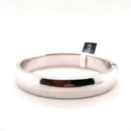 Zilveren bangle 12mm