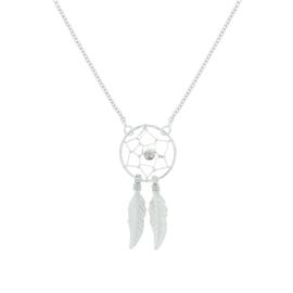 Zilveren collier dromenvanger 1,5 mm 41 + 4 cm