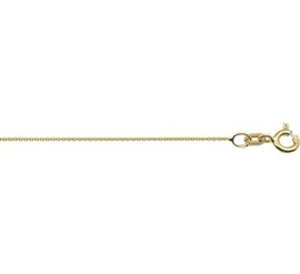 Collier anker rond 0,8 mm 42 cm