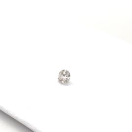 Diamant - 0.29 ct. - rond briljant - P2-H