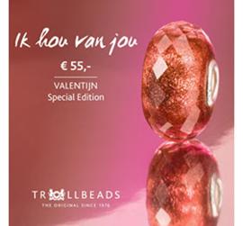 Valentijnskraal 'Ik hou van jou'
