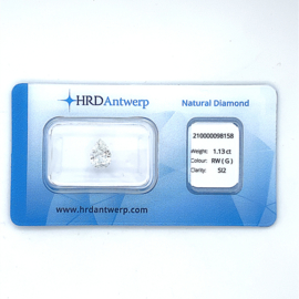 HRD Diamant - 1.13 ct. - Pear variation / SI2