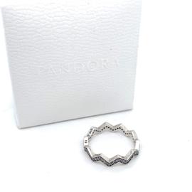 Occasion zilveren Pandora zigzag ring