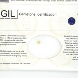 GIL Diamant - 0.28 ct - rond briljant