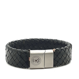 Zero Jewels - Rotterdam - armband - zwart