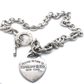 Occasion collier Tiffany & Co. Return to Tiffany Heart Tag Toggle
