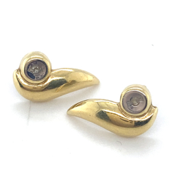 gouden vintage oorknoppen