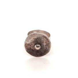 Occasion zilveren handgemaakte ring