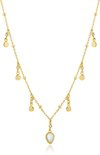 Ania Haie Collier AH N016-02G - Zilver Goldplated