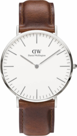 Daniel Wellington Classic St. Mawes - Horloge - 40 mm - Bruin