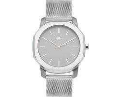 IKKI VANCE VC02 Horloge - Zilver/Grijs