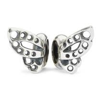Trollbeads Dansende Vlinders, stoppers