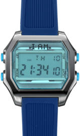 I AM THE WATCH - Horloge - 44mm - Grijs/blauw - IAM-KIT22
