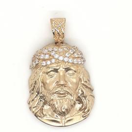 Geelgouden hanger Jezus