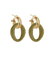 AMJOYA Earrings Ibiza Kiwi
