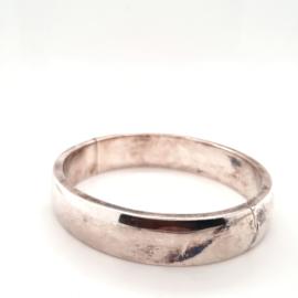 Zilveren bangle 13.5mm