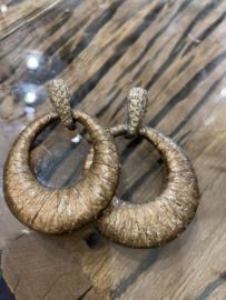 Kmo oorhangers brons