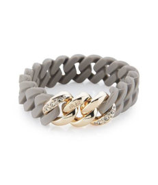 THE RUBZ THE RUBZ ARMBAND CRYSTAL CLASSIC MINI TAUPE