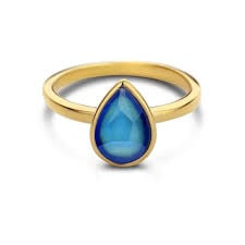 BLISS RING 925 SILVER 14K GOLD PLATED