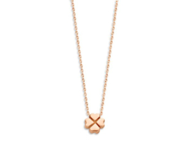 Just Franky Capital Necklace Clover