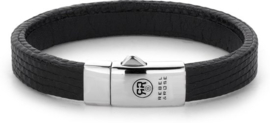 Rebel&Rose armband - Lizzard Small Black