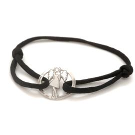 Armband help stichting Angela - Zilver & Briljant