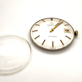 Occasion uurwerk en glas Certina