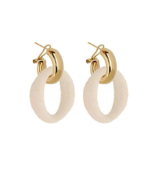 AMJOYA Earrings Ibiza Offwhite
