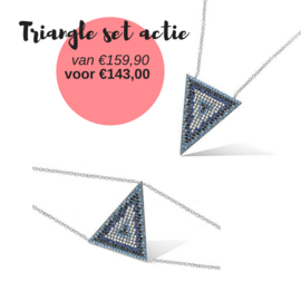 Triangle set actie