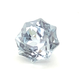 Sky blue Topaas ster - 6.05 ct