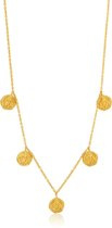 Ania Haie Collier AH N009-07G - Zilver Goldplated