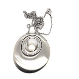 Zilveren ketting met hanger