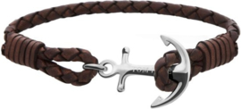 Tom Hope Havana Brown Armband TM0211 (Lengte: 18.00-19.50 cm)
