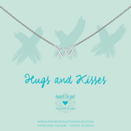 Heart to Get - XXX - Ketting - Zilver
