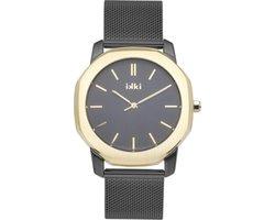 IKKI VANCE VC06 Horloge - Zwart/Goud
