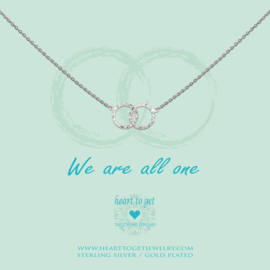 Heart to get - We are all one - Ketting