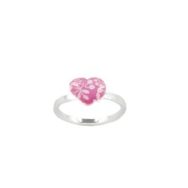 Zilveren Ring Heart