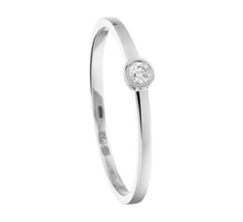Ring diamant 0.06 ct.