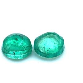 Smaragd - paar - 0.75ct