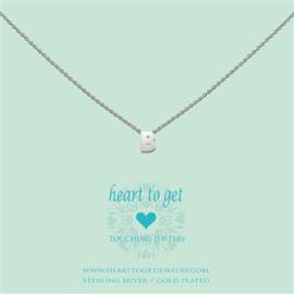 Heart to Get - Hanger B - Zilverkleurig