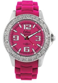 Colori 5-COL117 - Horloge - Roze - 44mm