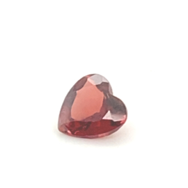 Granaat rood heartshape  - 1.35ct