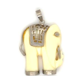 Occasion olifant hanger van ivoor
