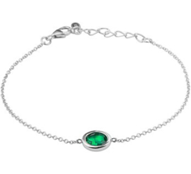 Armband smaragd 1,4 mm 17 + 3 cm