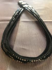 Occasion originele dubbele Swarovski armband