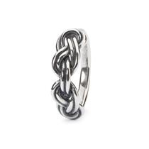 Trollbeads Ring Achtknoop mt 56