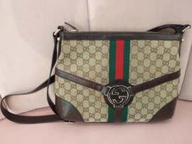 Occasion Gucci logo bag small