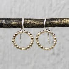 Jeh Jewels 19938 - Oorhanger pareldraad goldfilled klein