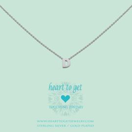 Heart to Get - Hanger D - Zilverkleurig