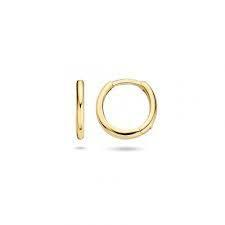 BLUSH geelgouden oorringen diameter 11mm dikte 1.9mm - 606898 BLUSH GEELGOUDEN OORRINGEN DIAMETER 11MM DIKTE 1.9MM - 606898